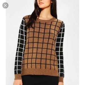 Lucca Couture UO windowpane Sweater